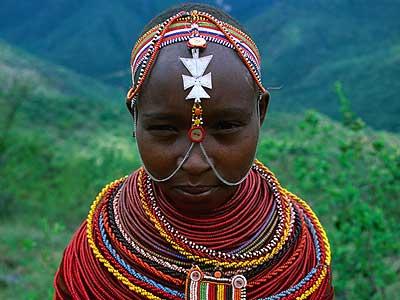Ljudi iz raznih krajeva svijeta Samburu-pleme