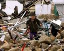 Palestinski deček medruševinami