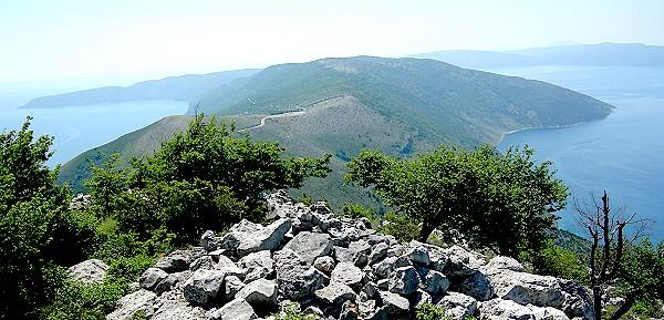 Pogled z vrha Sisa